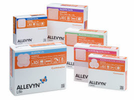 ALLEVYN packaging