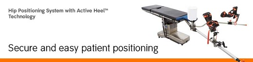 Hip Positioning System with Active Heel Technology