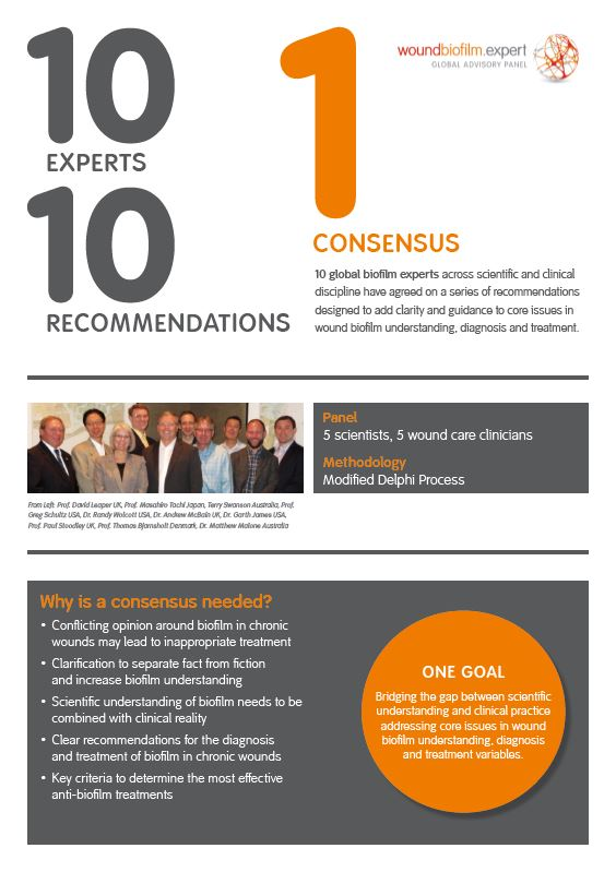 Consensus summary cover
