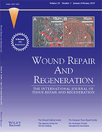 Wound Repair and Regeneration cover