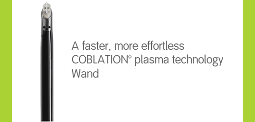 PROCISE MAX, a faster, more effortless COBLATION plasma technology wand