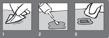 How to use IODOSORB Ointment Step 1-3