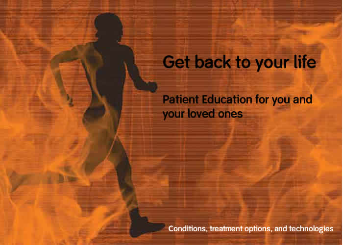 patient education homepage banner