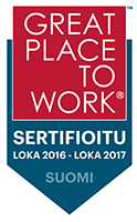 Great place to work Finland logo