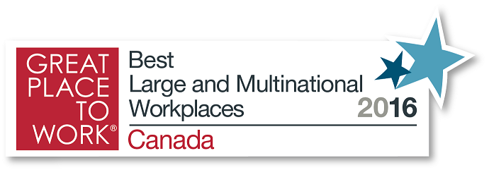 great place to work canada logo