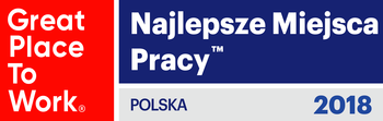Great Place to Work award logo - Poland