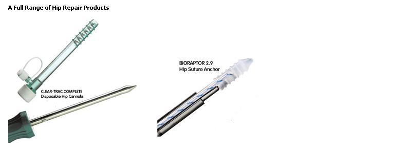 A Full Range of Hip Repair Products