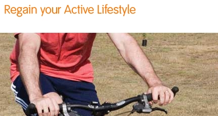 Regain your active lifestyle after hip arthroplasty