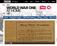 BBC World War 1 at Home website