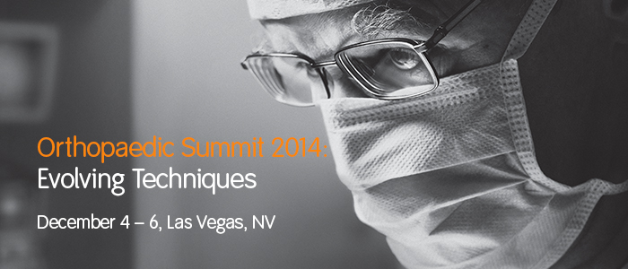 Orthopaedic Summit 2014